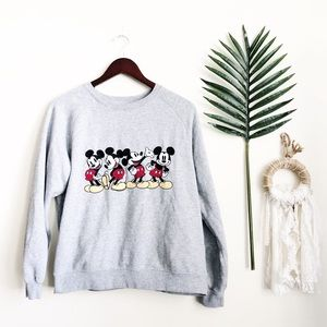 Disney Mickey Mouse Crewneck Sweater